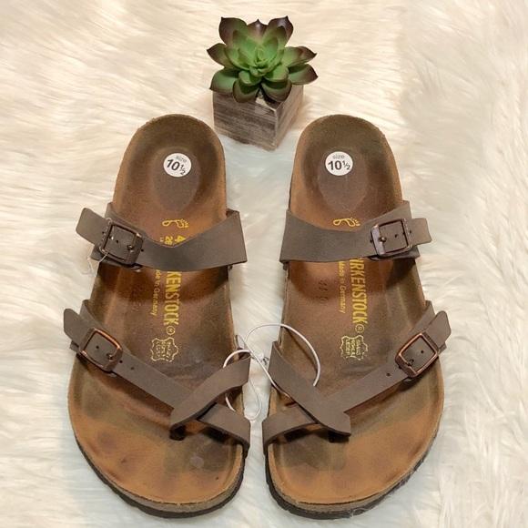 4ac820fe307e Birkenstock Shoes - Birkenstock Mayari Sandals Size 40 Birks